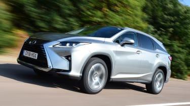 Lexus RX L - front