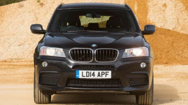 Used BMW X3 - full front