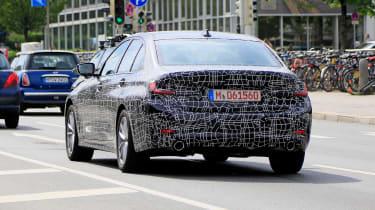 BMW 3 Series spies rear