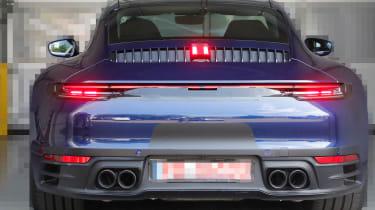 Next generation Porsche 911 brake lights