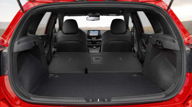 Hyundai i30 N Line folded seats
