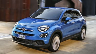 Fiat 500X - front action