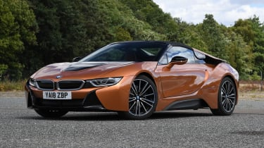 BMW i8 Roadster - front static roof up