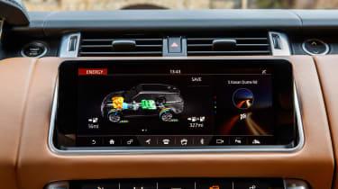 Range Rover Sport PHEV - infotainment
