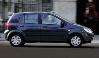 Side view of Hyundai Getz