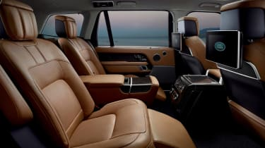 Updated Range Rover - rear seats