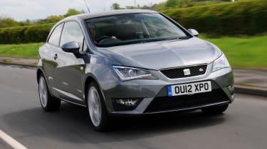 SEAT Ibiza SC FR 1.4 TSI front tracking