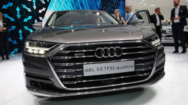 Audi A8 - Frankfurt full front