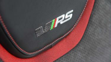 Skoda Octavia vRS 245 - seat detail