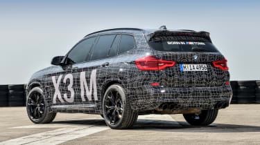 BMW X3 M Performance - rear