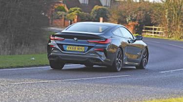 BMW 8 Series rear
