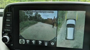 Hyundai Santa Fe long termer - second report parking camera