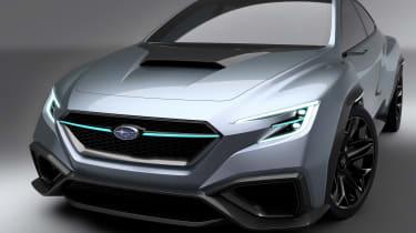 Subaru VIZIV concept - front