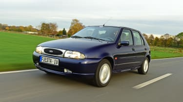 Ford Fiesta Mk4 - front tracking