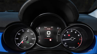fiat 500x dashboard instruments