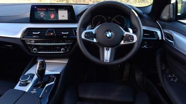 BMW 5 Series - dash
