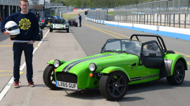 Long-term test review: Caterham 270S - fourth report header