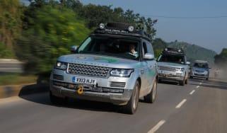 Range Rover in India