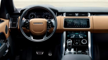 Updated Range Rover - interior