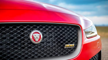 Jaguar XE and XF launched - grille