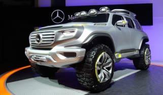 Mercedes Ener-G-Force front