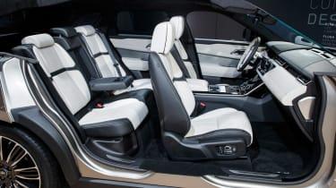 Range Rover Velar show - seats