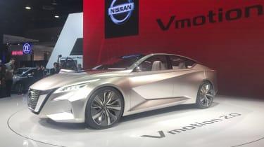 Nissan Vmotion 2.0 concept - Detroit front quarter