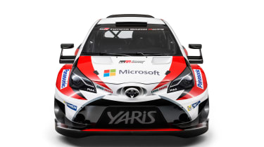 New Toyota Yaris WRC rally car revealed for 2017 nose