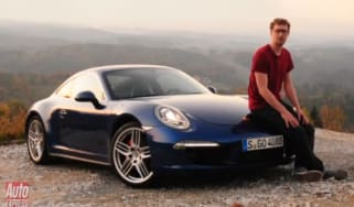 Porsche 911 Carrera 4S and Cayenne S Diesel video review