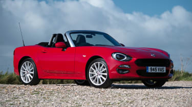 Fiat 124 Spider - front static