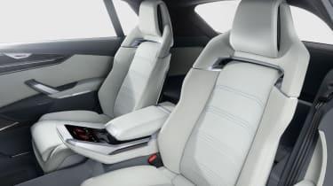 Audi Q8 SUV - rear seats