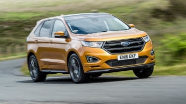 Ford Edge - front action
