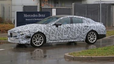 Mercedes CLS/CLE spies