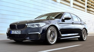 bmw m550i tracking front