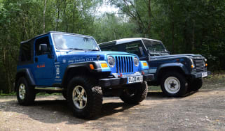 Land Rover Defender vs Jeep Wrangler - modern classics head-to-head