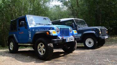 Land Rover Defender vs Jeep Wrangler - modern classics head-to-head
