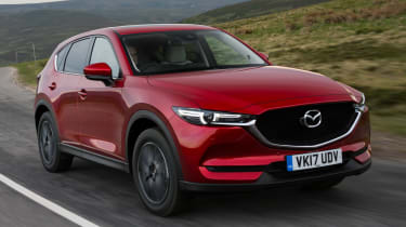 Mazda CX-5 2.0 - front tracking