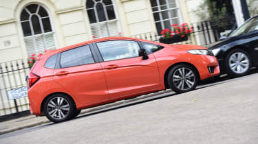 Honda Jazz long-term first report - side action