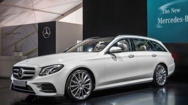 Mercedes E-Class Estate - launch front quarter 2