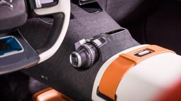 Citroen Aircross concept - controls