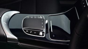 Mercedes GLC 220 d  - centre console