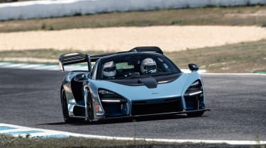 McLaren Senna - front tracking