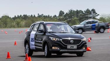 New MG ZS SUV 2017 cone