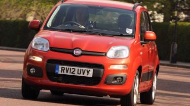 Fiat Panda TwinAir front cornering