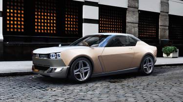 Nissan IDx concept  - front