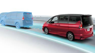 Nissan Serena autonomous