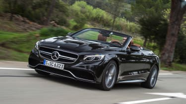 Mercedes-AMG S 63 Cabriolet 2016 - front tracking