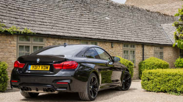 BMW M4 2017 facelift rear static