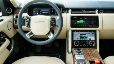New Range Rover PHEV 2017 review - interior
