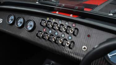 Caterham 620S - dashboard buttons